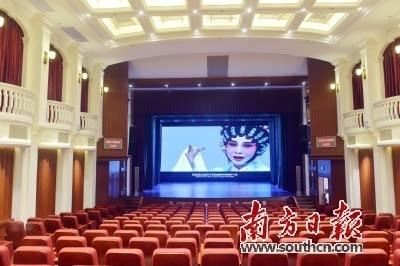 民国欧式风格剧院内部场景