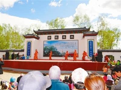开鲁县大榆树古榆园传统文化庙会火火哒!