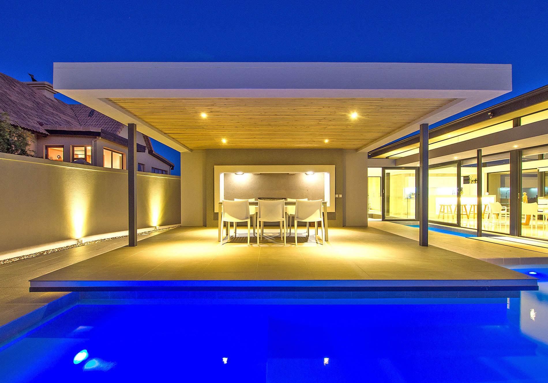 欧式别墅室内设计图片_灯光的盛宴