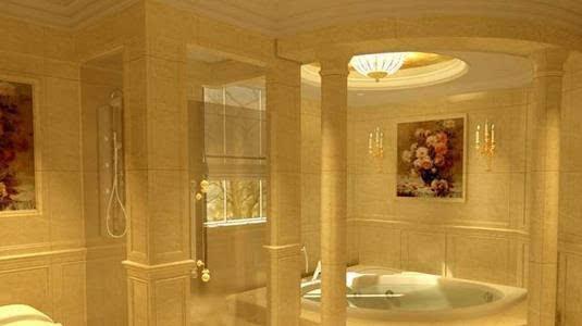就可以让3平米的卫生间变身土豪版!