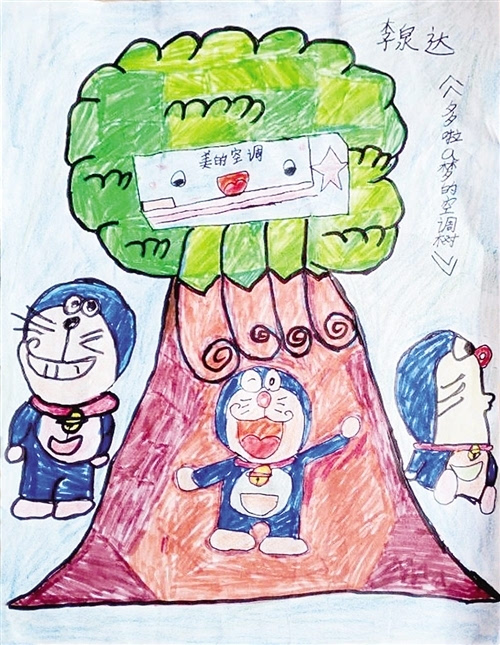 为孩子投票助力成长 孩子手绘漫画描出美好生活