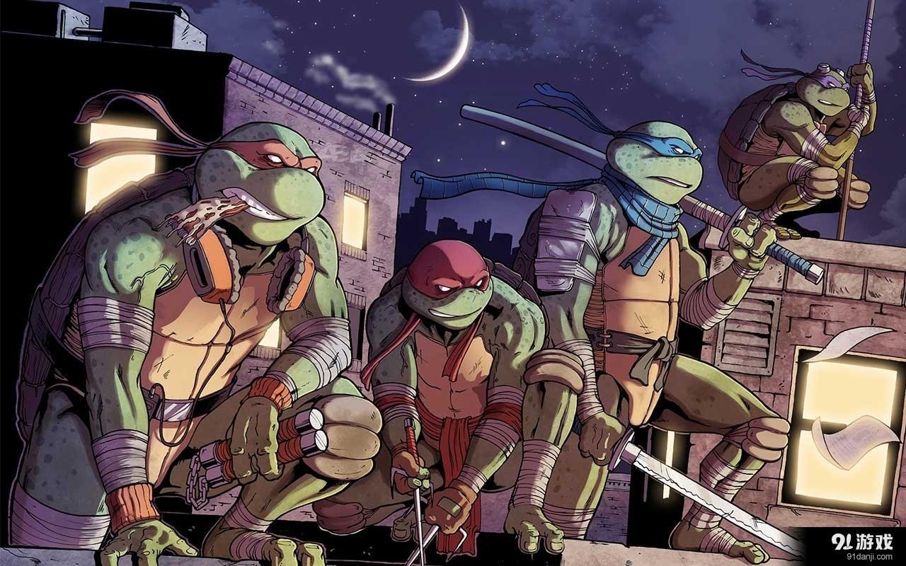 《忍者漫画:曼哈顿触发》突变高难度boss神龟条件美图人物女图片