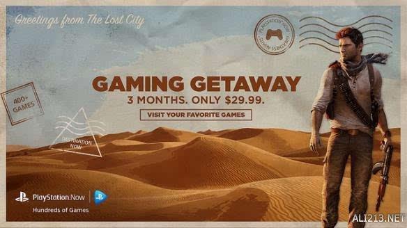 PS Now特惠 30美元畅玩三个月 400款游戏任你挑