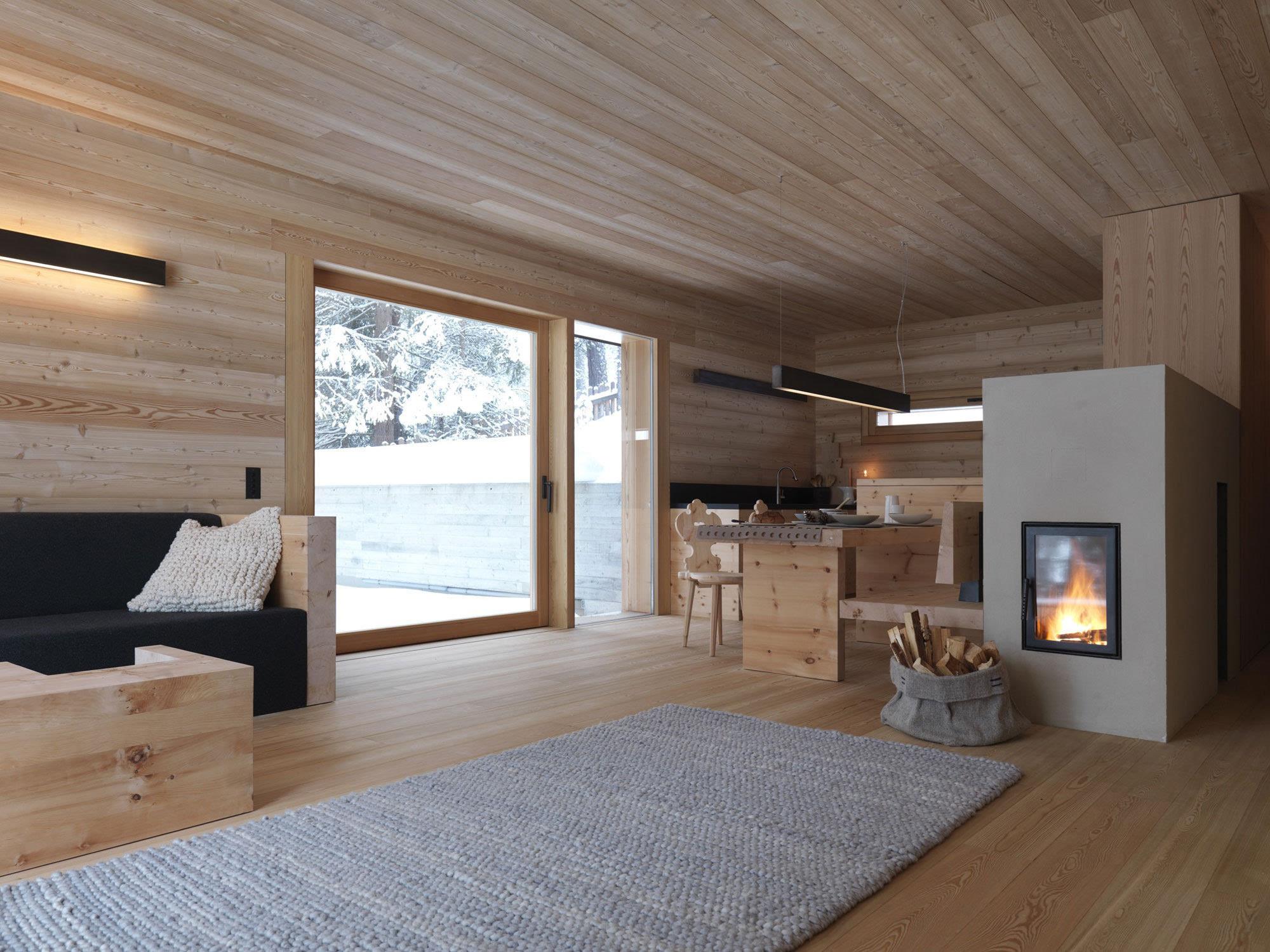 环保小制作_纵享山谷雪景的小型别墅