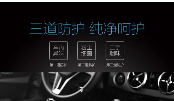 豹米首款车载空气净化器发布:698元/净化率99%的照片 - 4