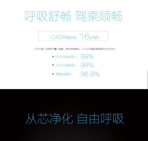 豹米首款车载空气净化器发布:698元/净化率99%的照片 - 5