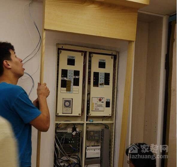 墙面插座高度电路图