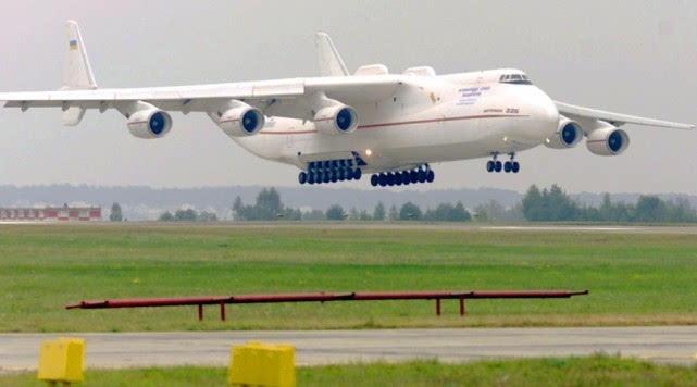 宽的飞机,该机最大起飞重量640吨