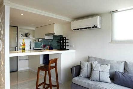 6个开放式厨房吧台装修效果图 比酒吧里的都方便舒适