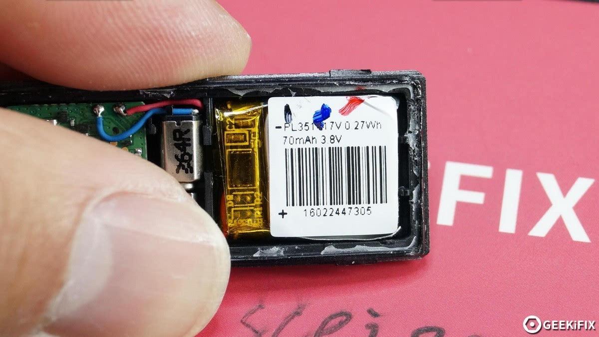 99元能测紫外线 华为荣耀畅玩手环A1拆解的照片 - 26