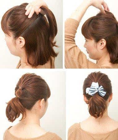 头发少头发短怎么扎好看?5款发型帮你解决烦恼!