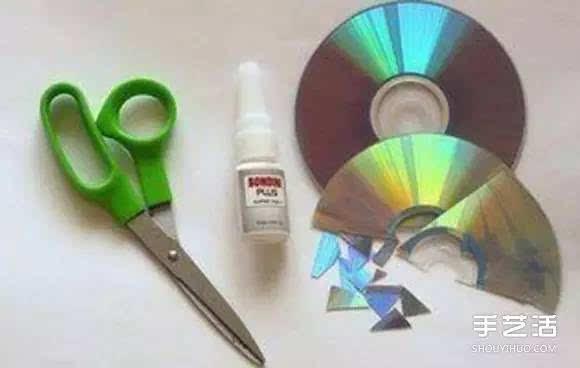[废品再造]废旧光盘手工小制作 将礼品盒改造的美美哒[60609期]图片