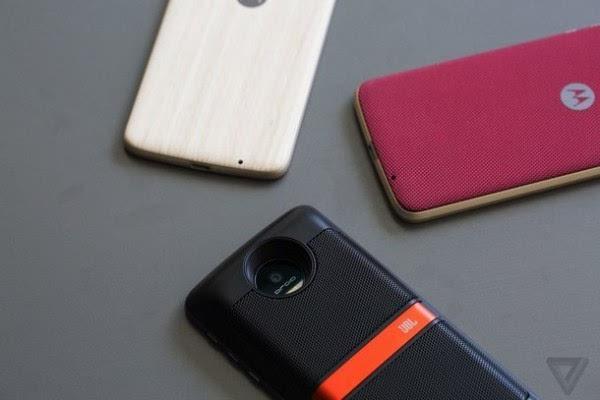 HTC多下巴首位接任者:Moto Z & Moto Z Force图赏的照片 - 2