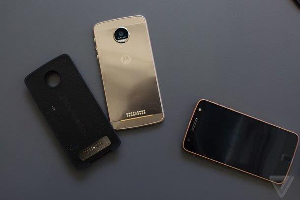 HTC多下巴首位接任者:Moto Z & Moto Z Force图赏的照片 - 19