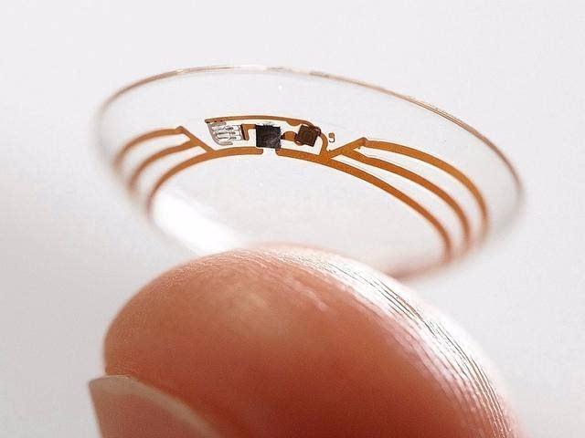 谷歌智能隐形眼镜成PPT产品 能准确监测血糖