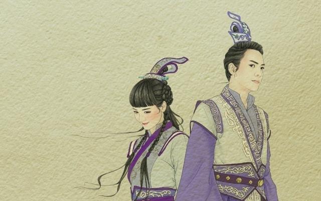 古剑奇谭手绘宽屏壁纸