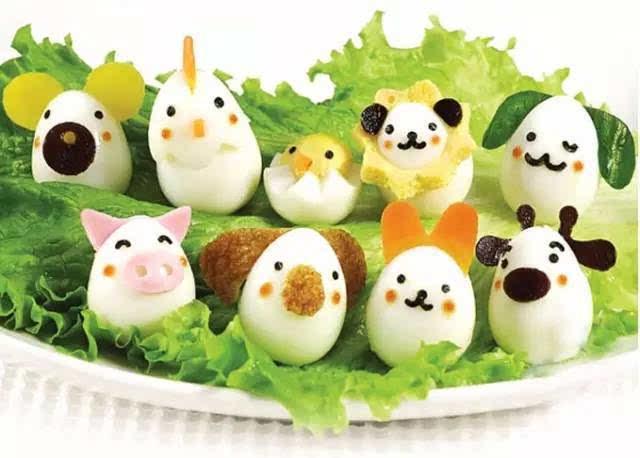 用小鹌鹑蛋做成的可爱小动物,最可爱的配饰就搞定啦