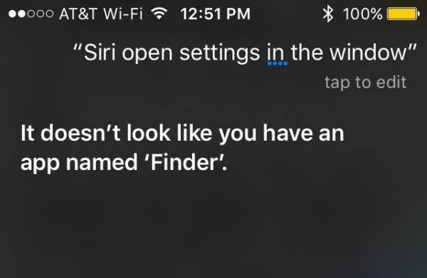 Siri已成泄密大神:发布会前回答找不到Finder的照片