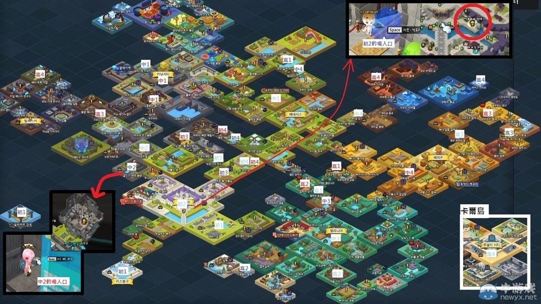 《冒险岛2》钓鱼地图大全