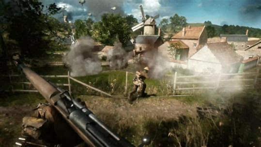 《战地1》实机视频首公开:拟真堪比电影的照片 - 9