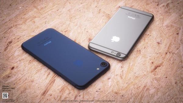 新鲜出炉的深蓝色 iPhone 概念设计的照片 - 2