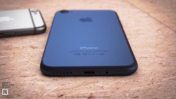 新鲜出炉的深蓝色 iPhone 概念设计的照片 - 3
