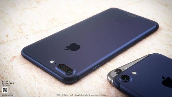 新鲜出炉的深蓝色 iPhone 概念设计的照片 - 5