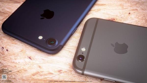 新鲜出炉的深蓝色 iPhone 概念设计的照片 - 6