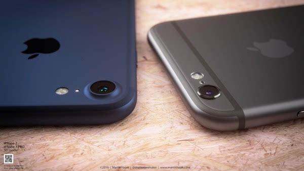 新鲜出炉的深蓝色 iPhone 概念设计的照片 - 7