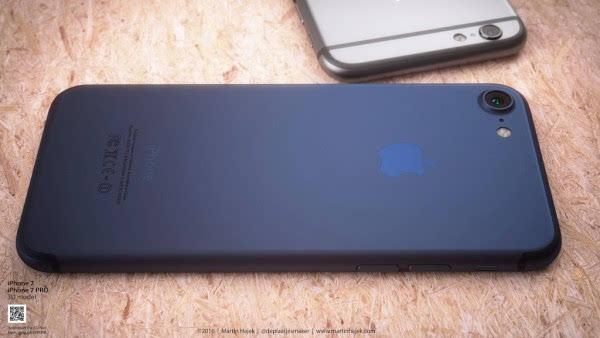 新鲜出炉的深蓝色 iPhone 概念设计的照片 - 8