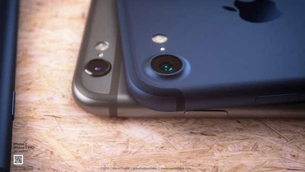 新鲜出炉的深蓝色 iPhone 概念设计的照片 - 10