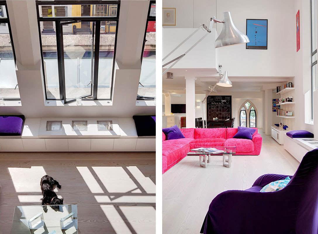房间装修图片大全_哥特式建筑的现代表现