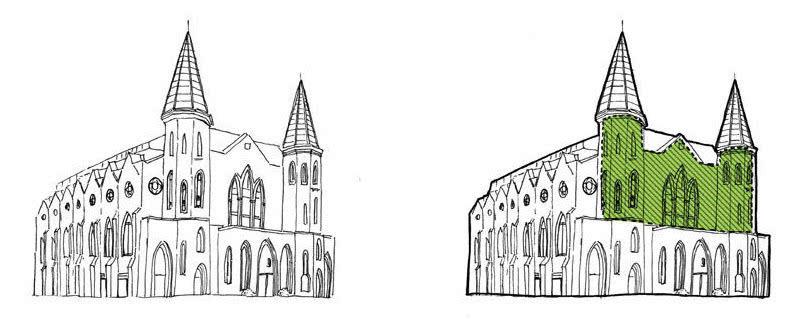 装修图片大全 哥特式建筑的现代表现