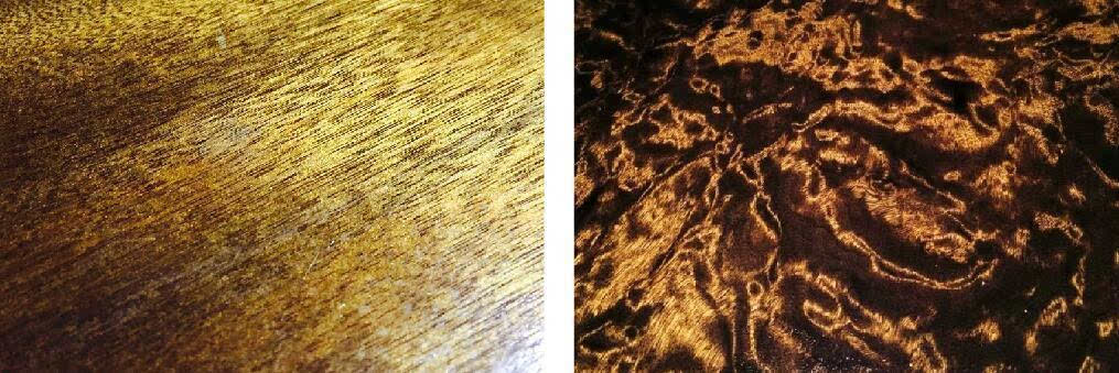 金丝楠乌木外表黑褐色或黄褐色,切面多为黄褐色带绿色,有清香味,药