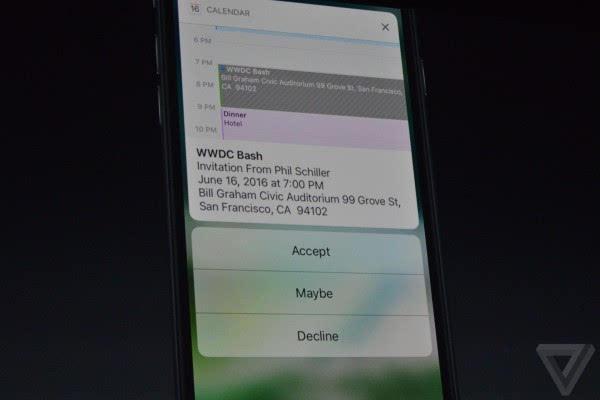 苹果介绍iOS 10:Siri支持第三方应用 对开发者开放的照片 - 5