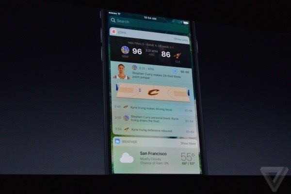 苹果介绍iOS 10:Siri支持第三方应用 对开发者开放的照片 - 9