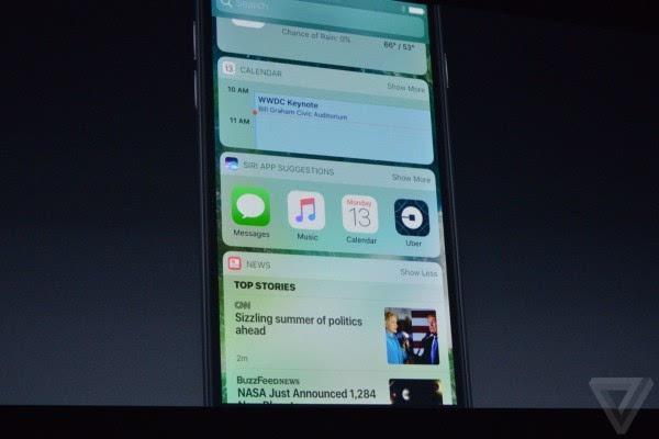 苹果介绍iOS 10:Siri支持第三方应用 对开发者开放的照片 - 10