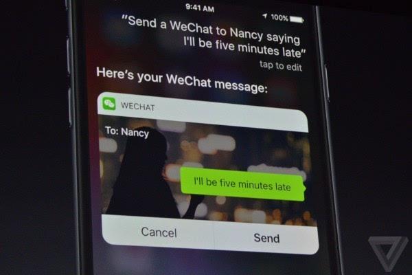 苹果介绍iOS 10:Siri支持第三方应用 对开发者开放的照片 - 13