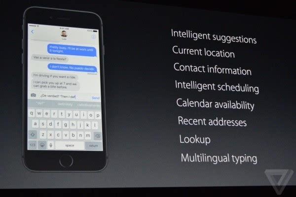 苹果介绍iOS 10:Siri支持第三方应用 对开发者开放的照片 - 16