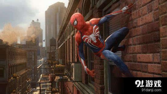 蜘蛛侠 PS4游戏首曝预告 自由探索开放世界