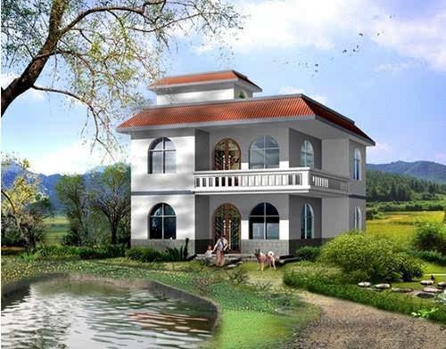 别墅 平面图 500_392