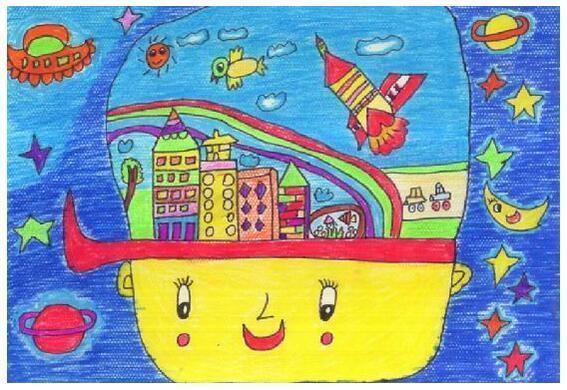 """正文  本届大赛以""""美丽中国梦·画笔绘幸福""""为主题,让孩子们以笔作画"""