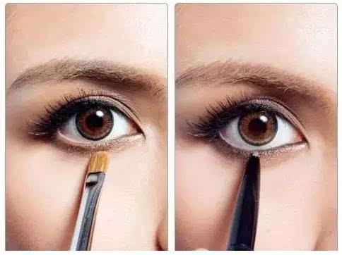 四眼影的画法步骤图解