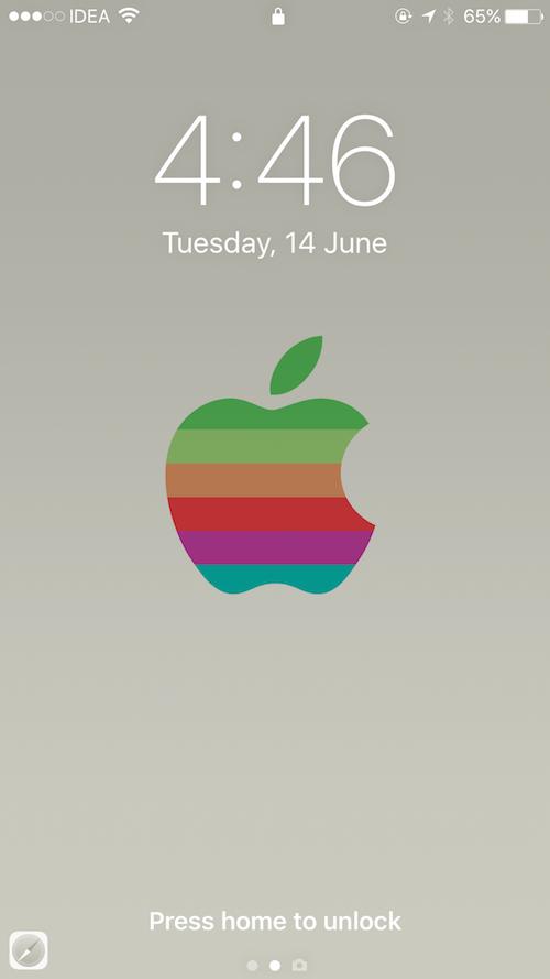 """随着 iOS 10 到来:告别经典的 """"滑动来解锁""""的照片 - 2"""