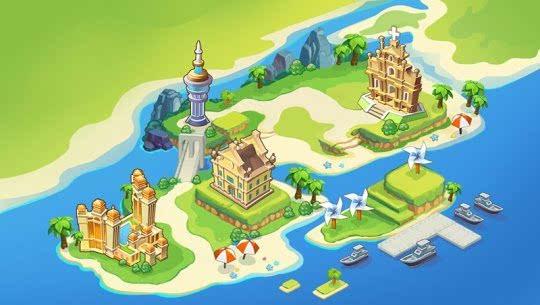 延续单机趣味 《大富翁9》世界地图揭秘