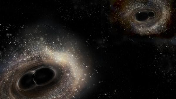 科学家再次探测到引力波信号:源自14亿年前的黑洞合并的照片 - 2
