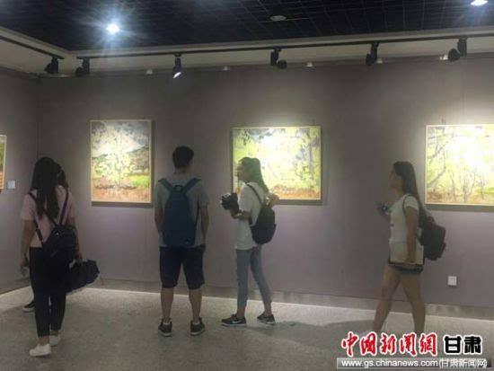 陇南礼县 壹拾叁油画作品展 在天水师院展出