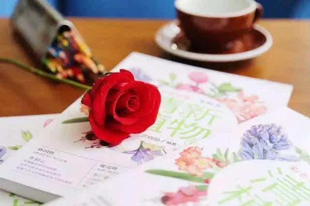 彩铅手绘咖啡馆