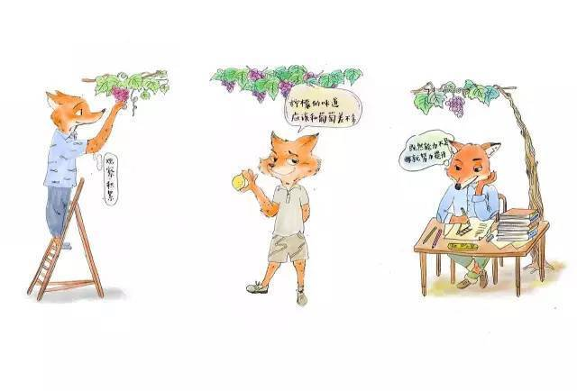 面对一串葡萄,你会是哪种狐狸?