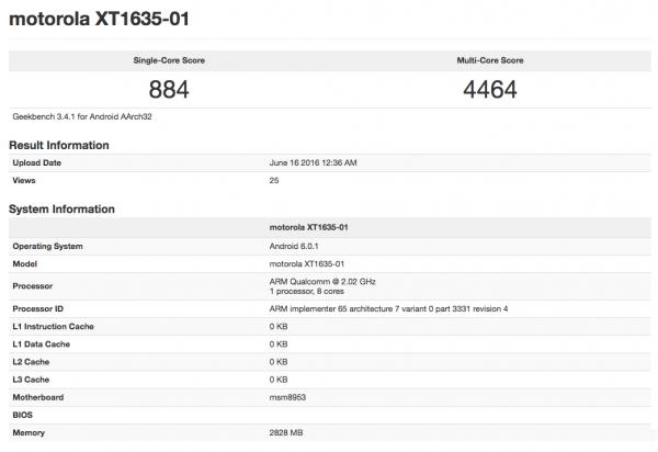 2000元?联想Moto Z Play曝光:14nm骁龙625的照片 - 2